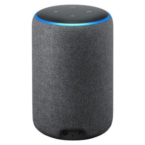 Amazon - Echo (3rd Gen) Smart Speaker with Alexa - Charcoal