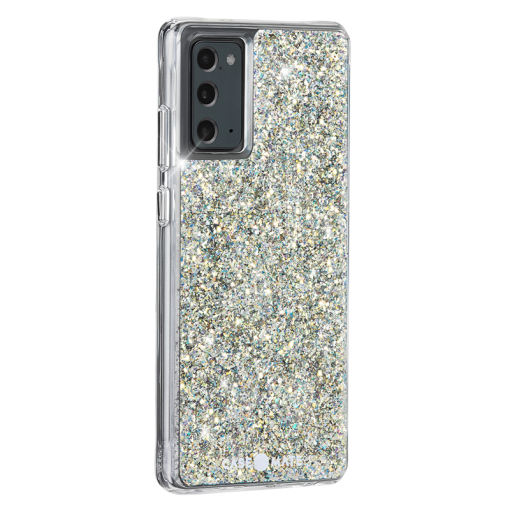 Case-Mate - Twinkle Case with MicroPel for Samsung Galaxy Note20 Stardust