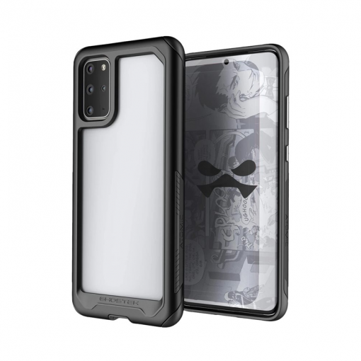 Ghostek - Atomic Slim 3 Case for Samsung Galaxy S20+ - Black/Clear