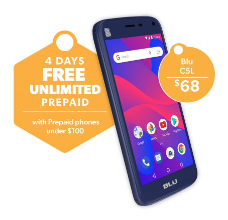 Prepaid Holiday Promo_4 Days Free